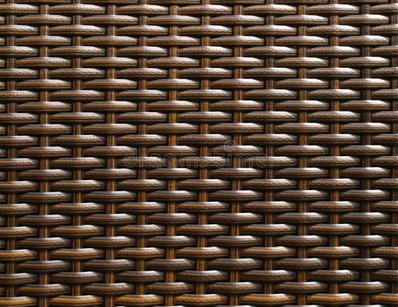 deseniowy krzesła wicker obraz stock