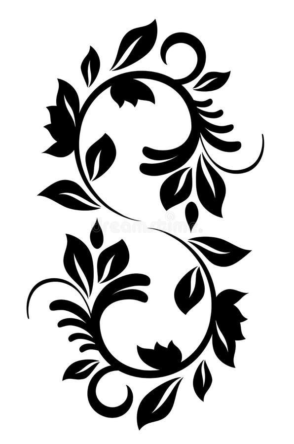 deseniowy projekta rocznik royalty ilustracja