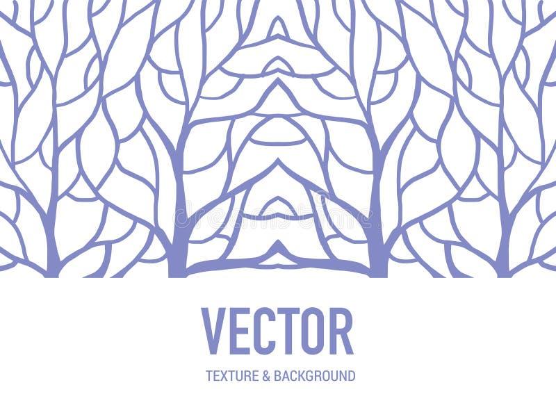 Deseniowy tło korzeń dla sztuki pracy ilustracja wektor
