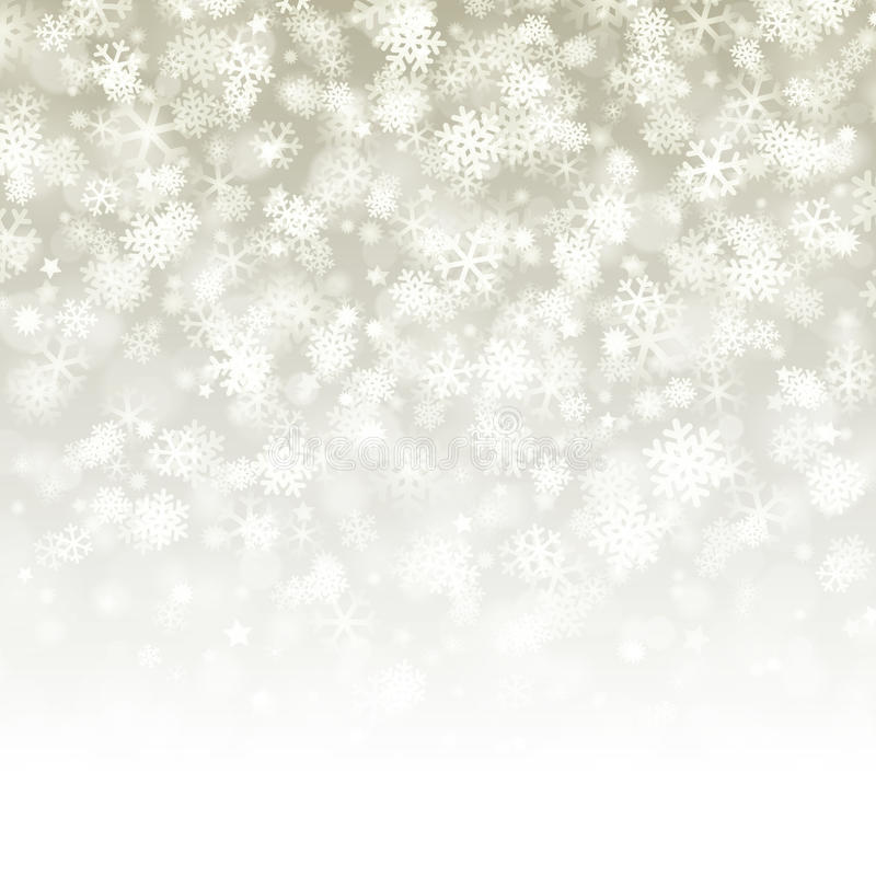 deseniowy tło płatek śniegu ilustracja wektor