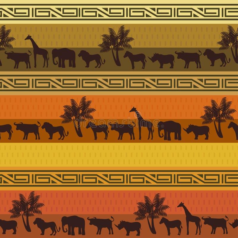 deseniowy tło safari
