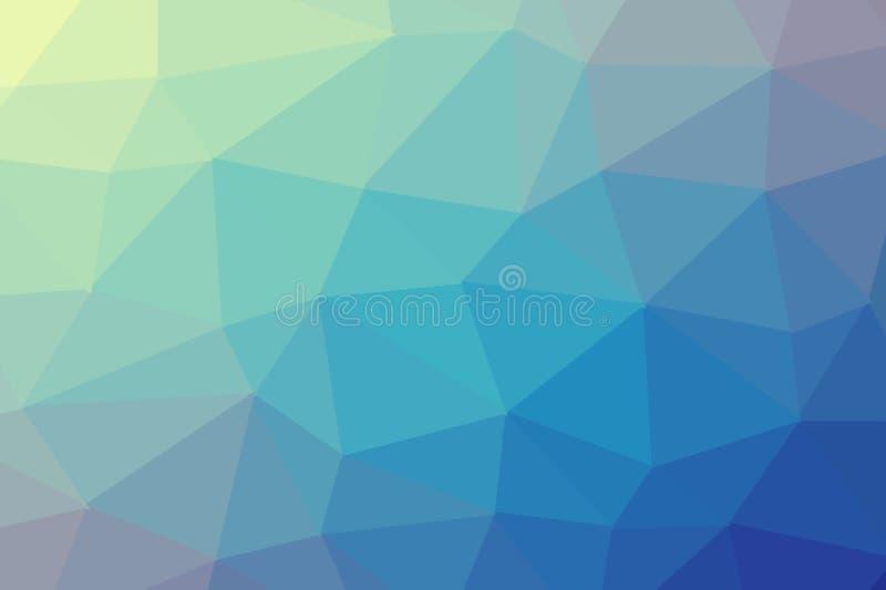 deseniowy trójgraniasty geometryczny tło Tło z trójboków kształtami ilustracja wektor
