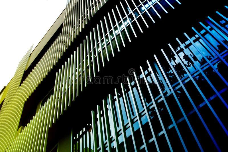 deseniują miejskiego budynków zdjęcia stock
