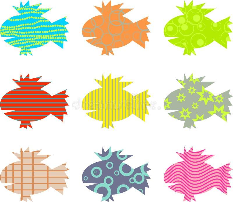 deseniująca ryb royalty ilustracja