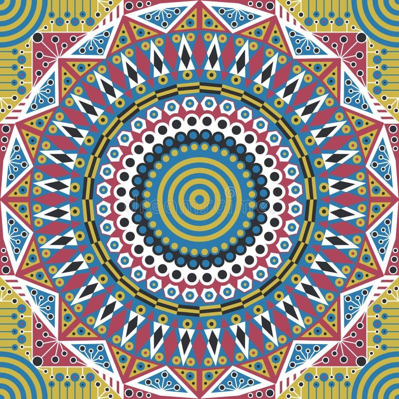 deseniujący abstrakcyjne tło ilustracja wektor