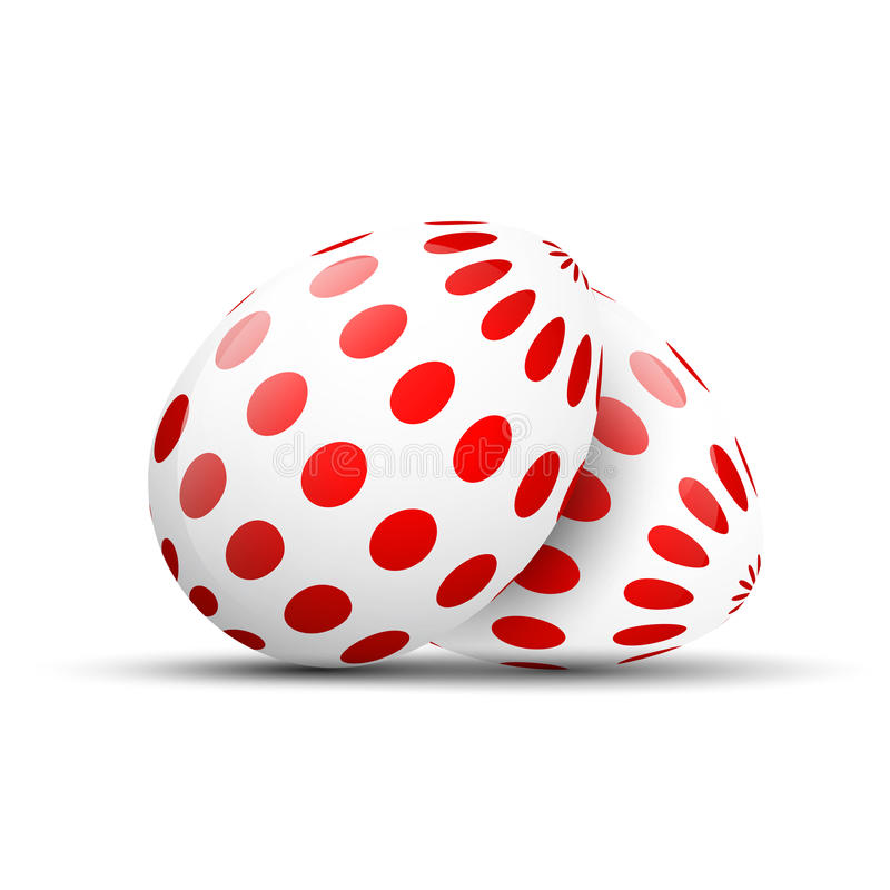 deseniujący Easter jajka ilustracji