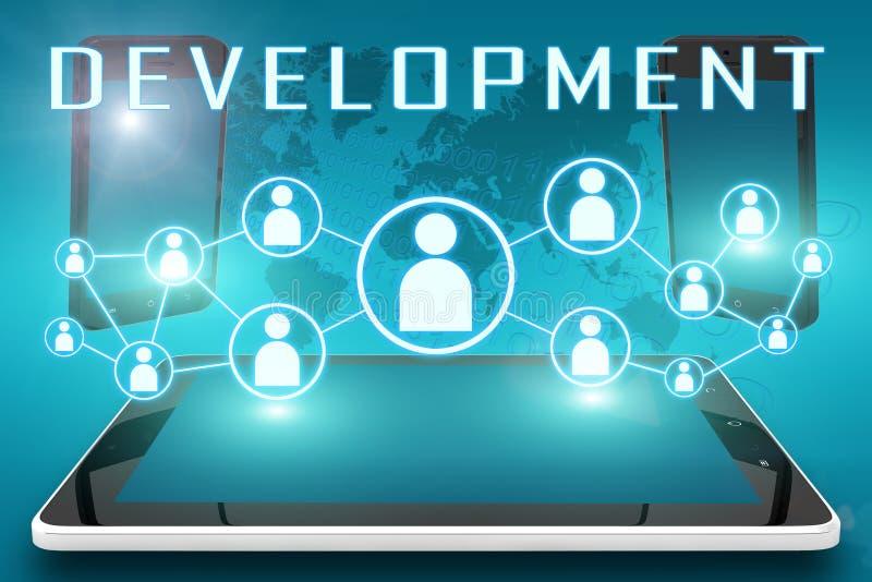 desenvolvimento ilustração royalty free