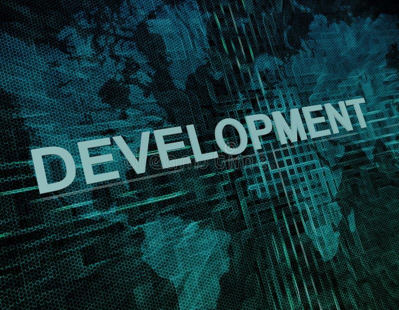desenvolvimento ilustração do vetor