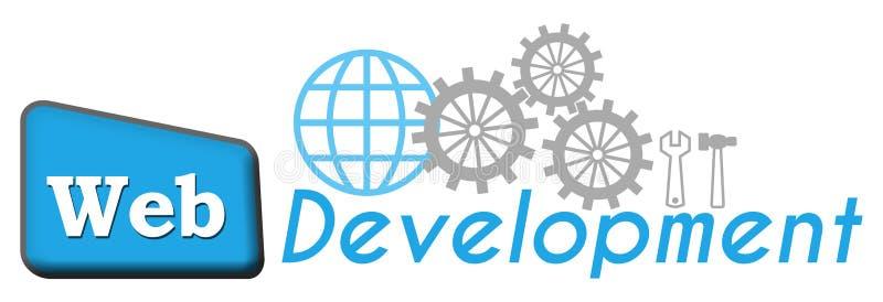 Desenvolvimento 1004 da Web ilustração royalty free