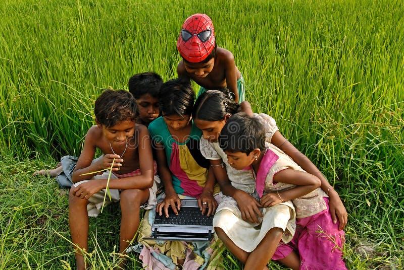 Desenvolvimento de crianças fotografia de stock