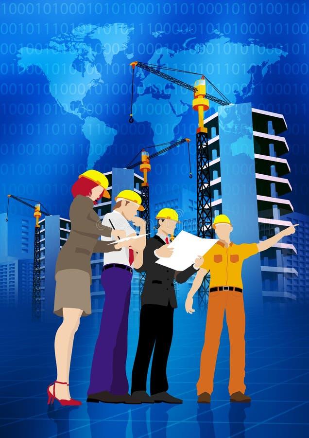 Desenvolvimento de negócios ilustração do vetor