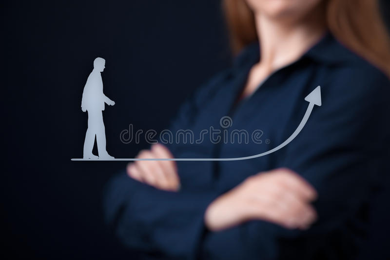 Desenvolvimento pessoal foto de stock