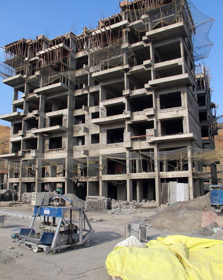 Desenvolvimento residencial indiano imagem de stock royalty free