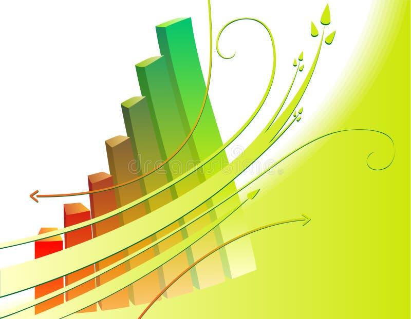 Desenvolvimento sustentável ilustração stock