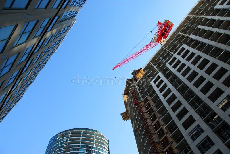 Desenvolvimento urbano foto de stock