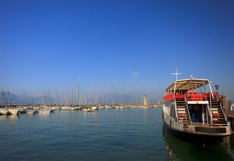 Download Desenzano Harbor Royalty Free Stock Image - Image: 26233096