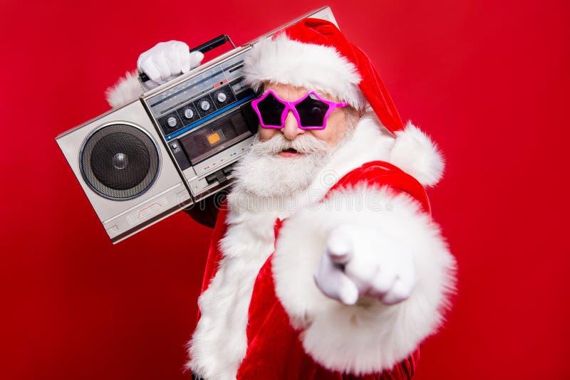 Deseo de moda diciembre del invierno de la víspera del christmastime del noel del disco elegante imagen de archivo libre de regalías