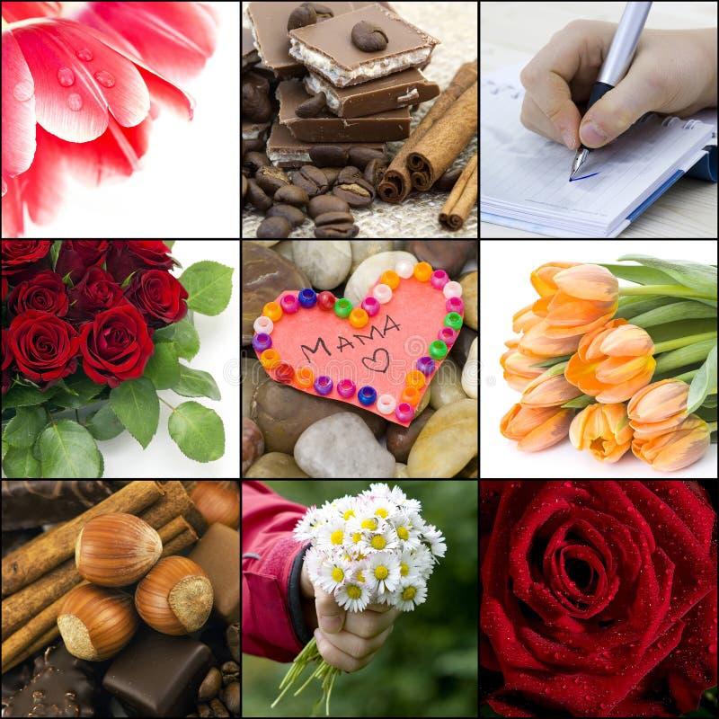 Deseos fotográficos para la mama foto de archivo