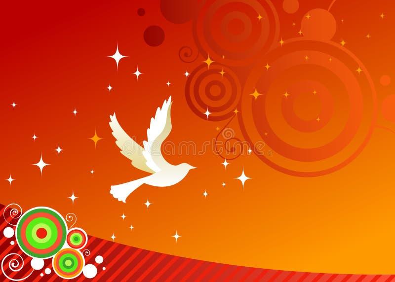 Deseos para la paz stock de ilustración