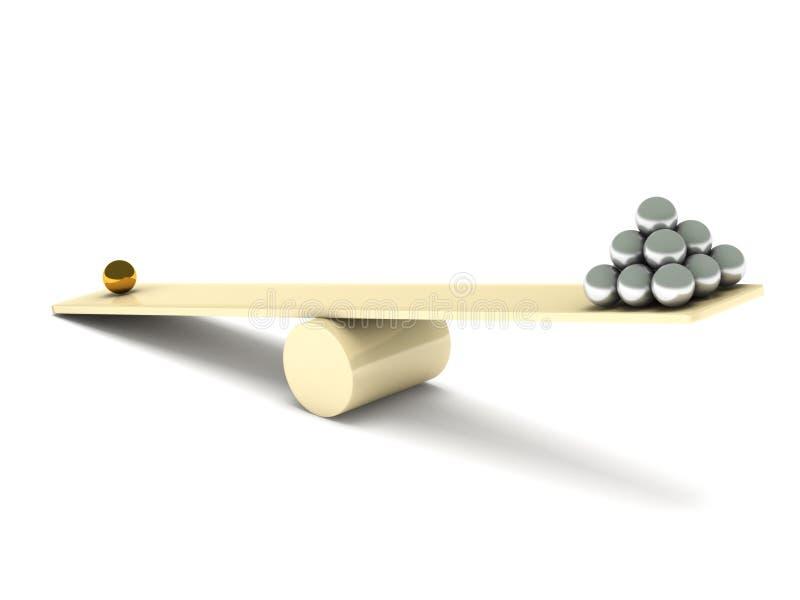 Desequilibrio libre illustration