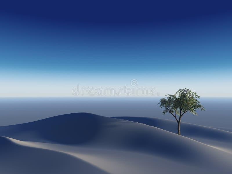 deseret偏僻的结构树 向量例证