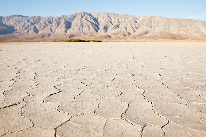 Desert. Clark Dry Lake, Anza Borrego Desert State Park