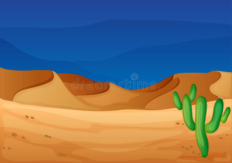 Desert stock illustration