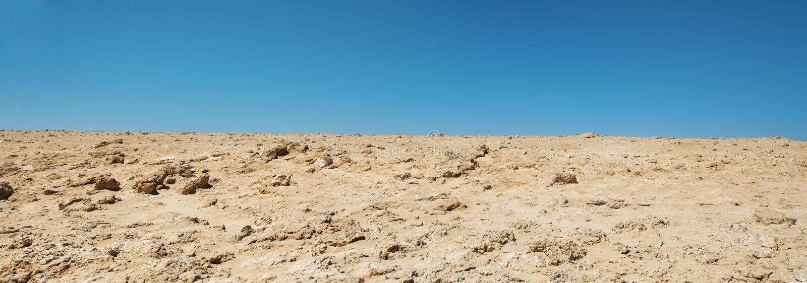 Desert. On a coast of the red sea stock photography