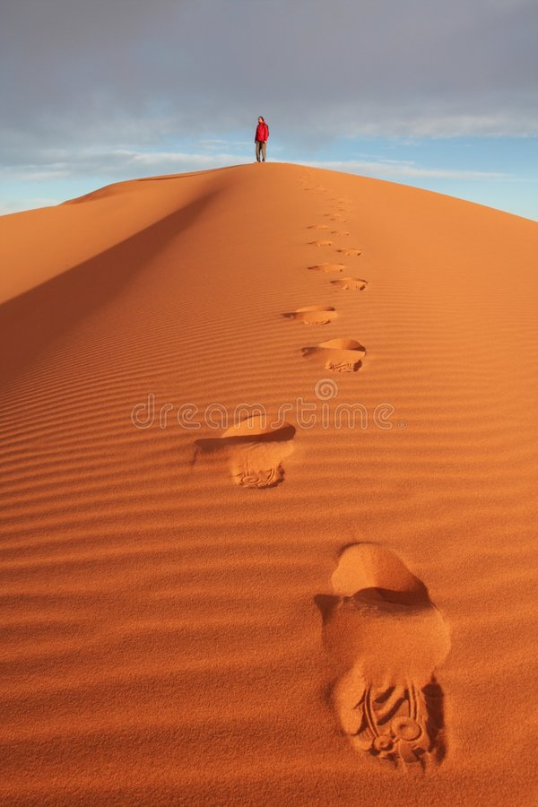 Download Desert stock photo. Image of lonely, chebbi, drought, hill - 4016738