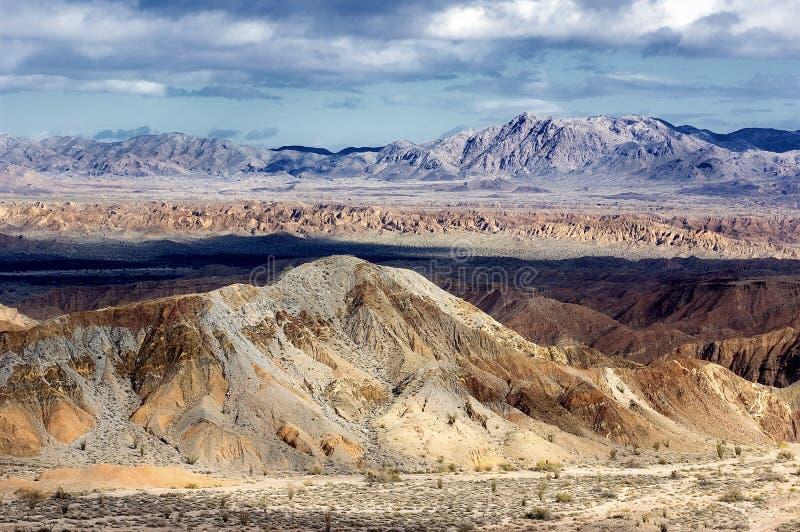 Desert Badlands stock photo