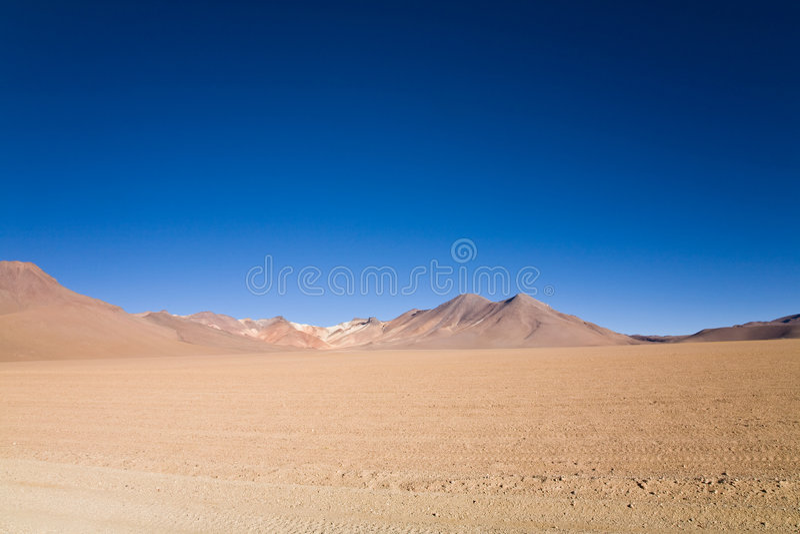 Desert, Bolivia royalty free stock photography