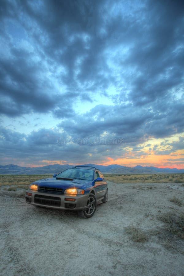 desert car stock image