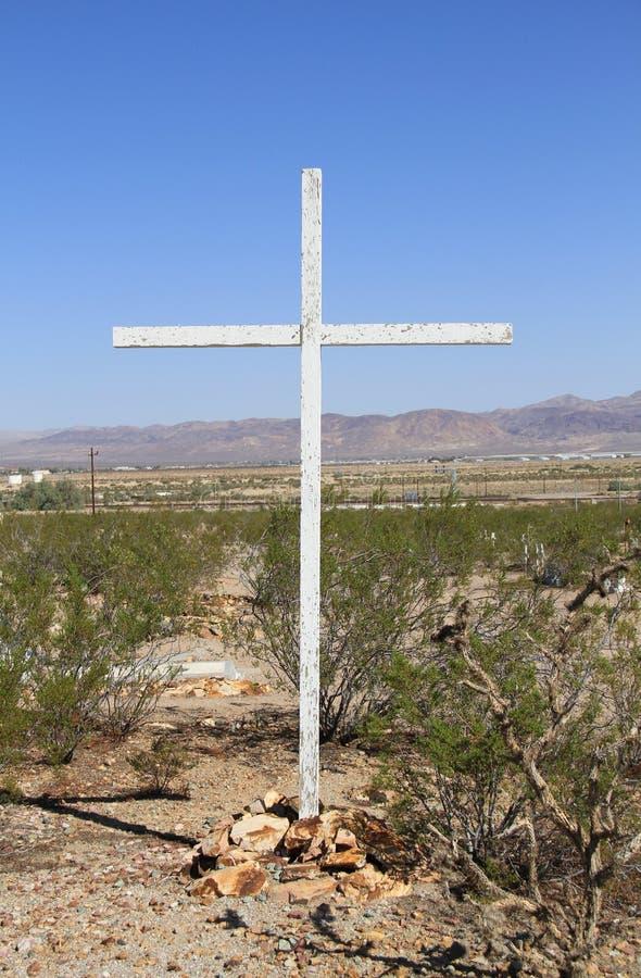 Download USA, California: Desert Cemetery Stock Photo - Image: 26781092