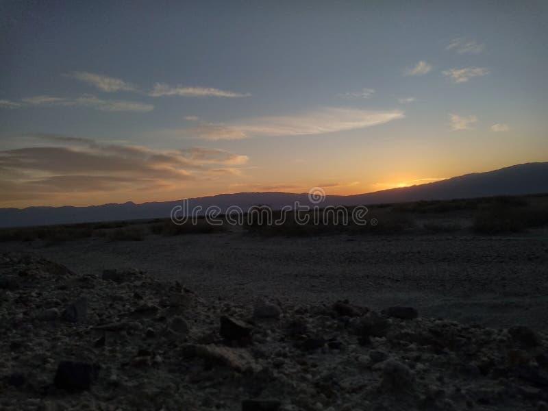 Desert Dusk immagine stock libera da diritti