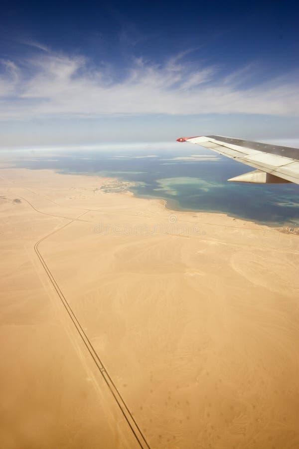 Desert, Egiped, sand, plane royalty free stock photo