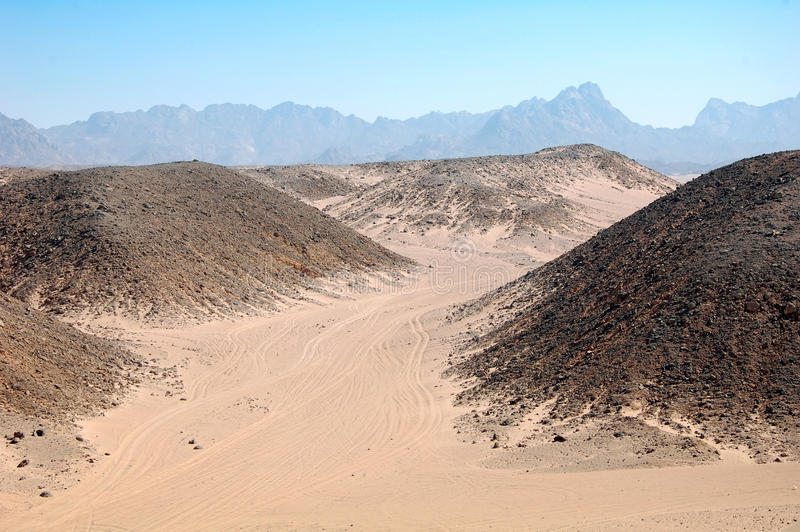 Download Desert in Egypt stock image. Image of outdoor, mountains - 19755651