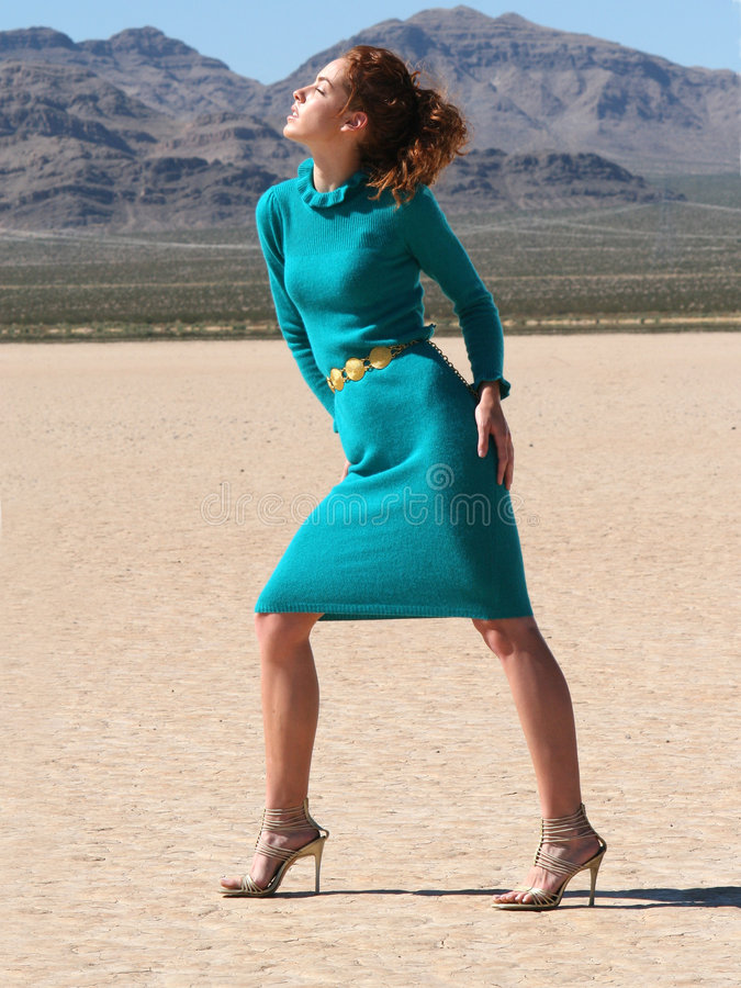 Desert Goddess royalty free stock photography