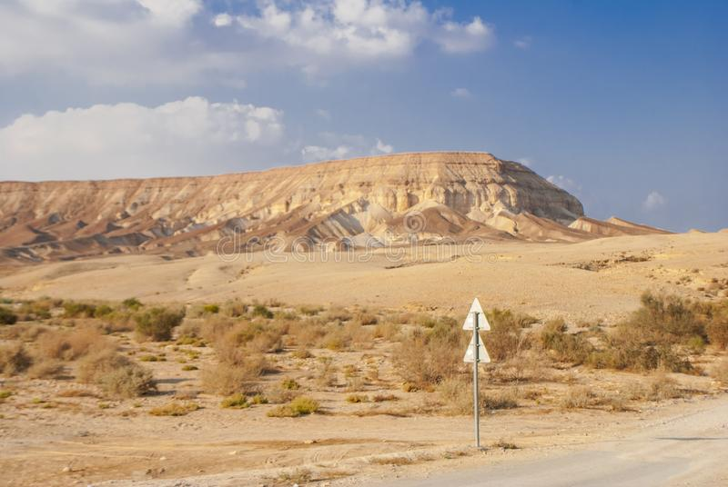 Desert hills and reflective Salty dead Sea and many others royalty free stock images