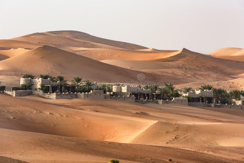 Desert Hotel, Abu Dhabi royalty free stock image