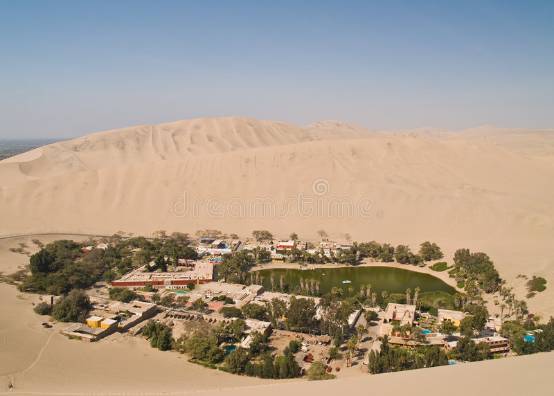 Desert of Ica stock image