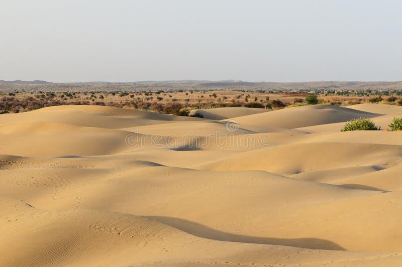 Desert in India stock photos
