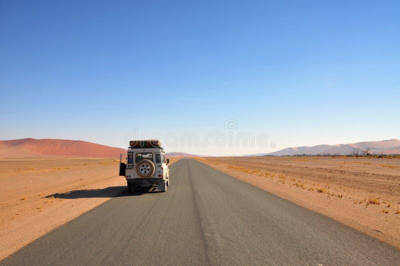 Desert jeep adventure royalty free stock image