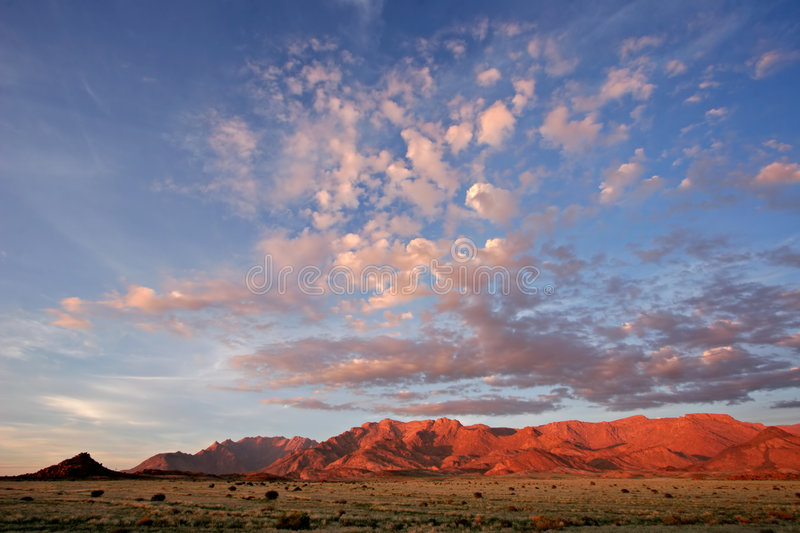 Download Desert Landscape, Brandberg Mountain, Namibia Stock Image - Image: 1949043