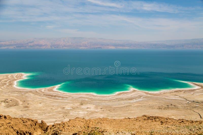 Desert landscape of Israel, Dead Sea, Jordan stock image