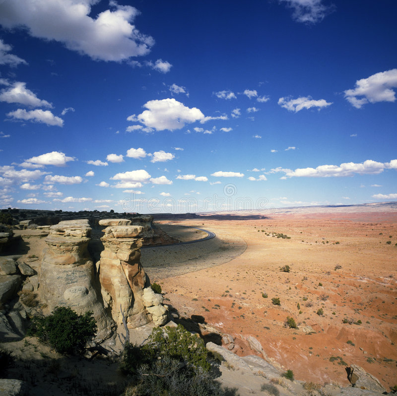 Download Desert landscape in Utah stock photo. Image of formation - 8407832