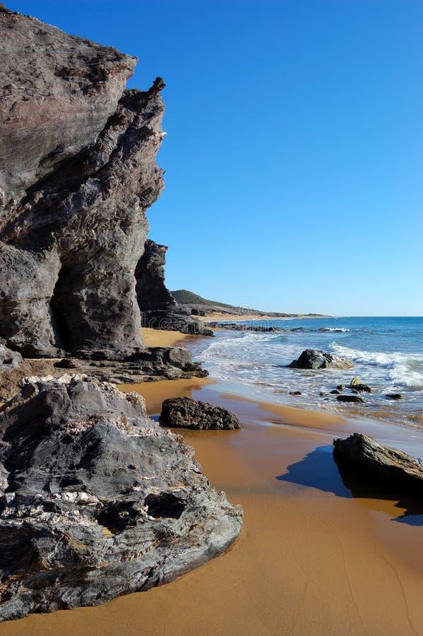 Download Desert like beach in spain stock image. Image of romantic - 23764247