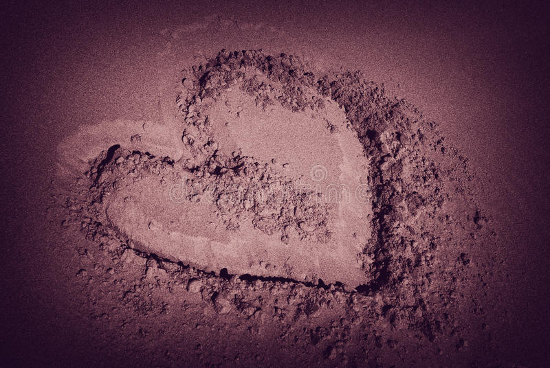 Download Desert love stock photo. Image of coloured, dunes, color - 13847122