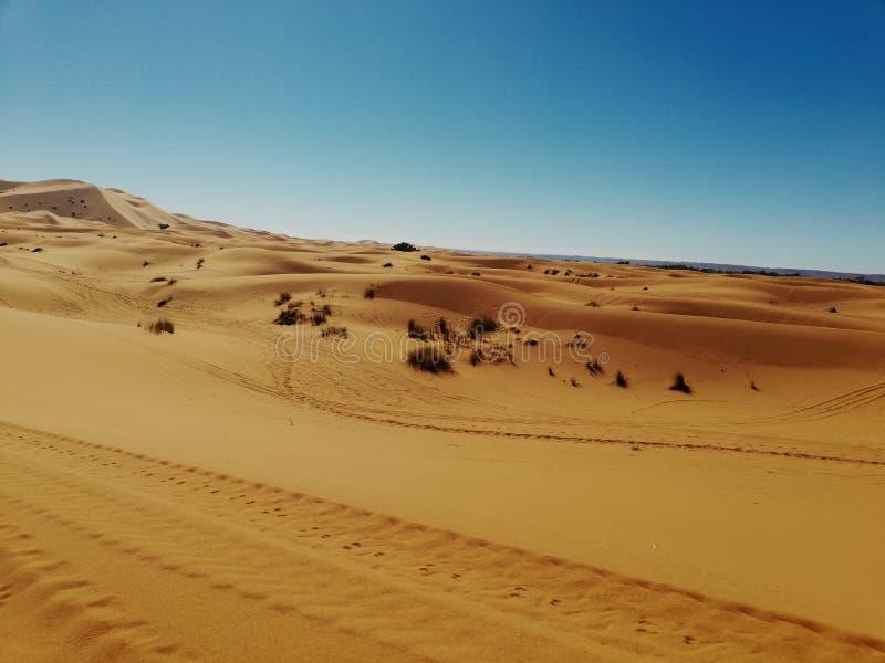 Merzouga& x27;s Desert stock image