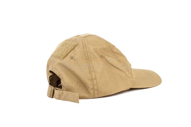 Desert military cap stock image