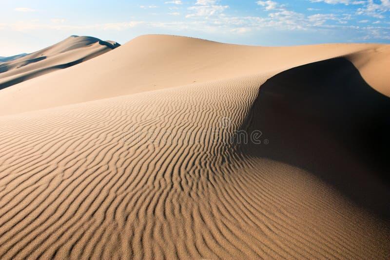 Desert - mongolia stock photo
